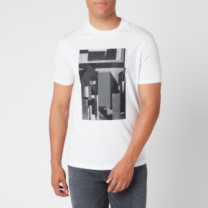 Armani Exchange Men's Abstract Box T-Shirt - White