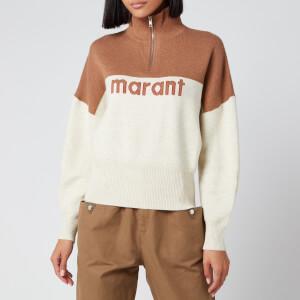 Isabel Marant Étoile Women's Linn Sweatshirt - Camel