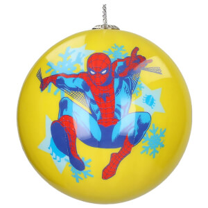 Marvel Christmas Bauble - Spiderman Snow