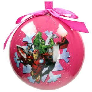 Marvel Christmas Bauble - Characters Snowflake