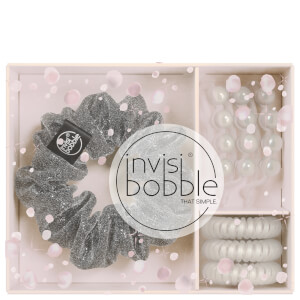invisibobble Sparks Flying Trio Slim Hair Tie, Sprunchie Hair Tie and Waver Hair Clip