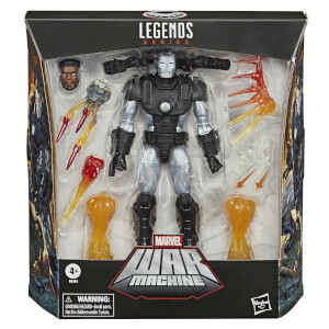 Hasbro Marvel Legends War Machine 6-Inch Scale Action Figure
