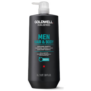 Goldwell Dualsenses Men's Hair & Body Shampoo 1000ml