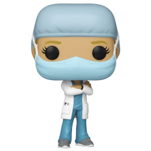 Pop! Heroes Front Line Worker Female 1 Funko Pop! Vinyl