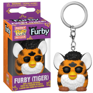 Tiger Furby Hasbro Pop! Schlüsselanhänger