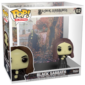 Pop! Rocks Black Sabbath with Case Funko Pop! Figure