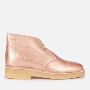 Clarks Originals Women's 221 Desert Boots - Rose Gold