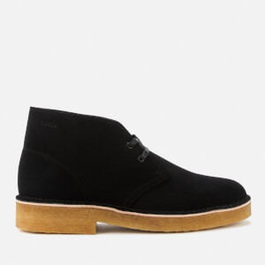 Clarks Originals Men's 221 Suede Desert Boots - Black