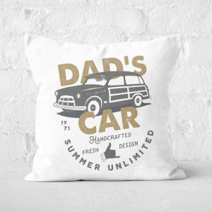 Dad's Car Square Cushion