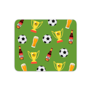 Football Fan Mouse Mat
