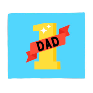 1 Dad Fleece Blanket