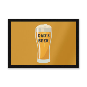 Dad's Beer Entrance Mat