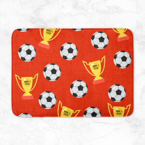 Football Dad Bath Mat