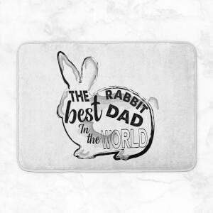 Rabbit Dad Bath Mat