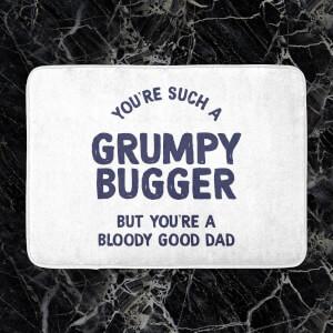 You're Such A Grumpy Bugger Bath Mat