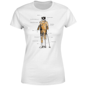 Astronaut Women's T-Shirt - White