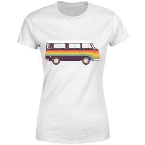 Rainbow Van Women's T-Shirt - White