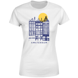 Amsterdam Women's T-Shirt - White