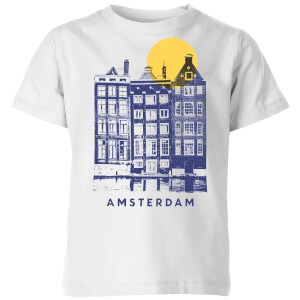 Amsterdam Kids' T-Shirt - White