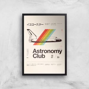 Astronomy Club Giclee Art Print