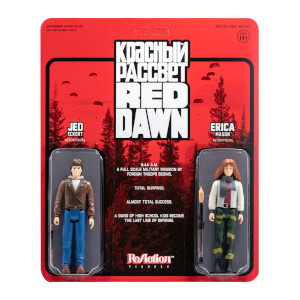 Super7 Red Dawn ReAction 2-Pack - Erica and Jed Action Figure