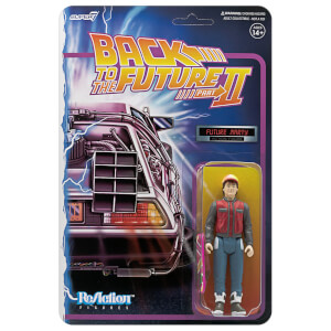 Super7 Back To The Future 2 ReAction Figure - Marty McFly Future Action Figure