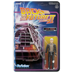 Super7 Back To The Future 2 ReAction Figure - Griff Tannen Action Figure