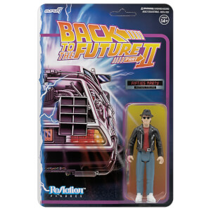 Super7 Back To The Future 2 ReAction Figure - Marty McFly 1950's Action Figure