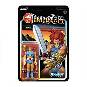 Super7 Thundercats ReAction - Lion-O Action Figure