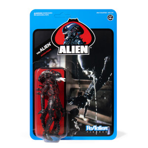 Super7 Alien ReAction Figure - Bloody Alien Open Mouth (Blue Card) Action Figure
