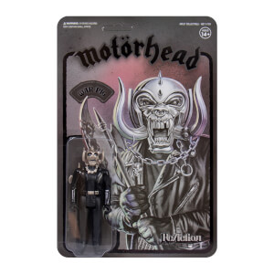 Super7 Motorhead Warpig ReAction Figure (Black Series) Action Figure