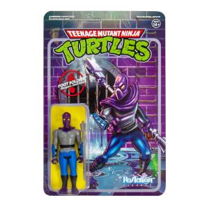 Super7 Teenage Mutant Ninja Turtles ReAction Figure - Foot Soldier Action Figure