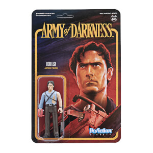 Super7 Army of Darkness ReAction Figure - Ash with Chainsaw Hand