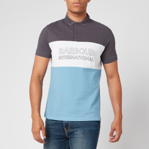 Barbour International Men's Bold Polo Shirt - Dusk Grey
