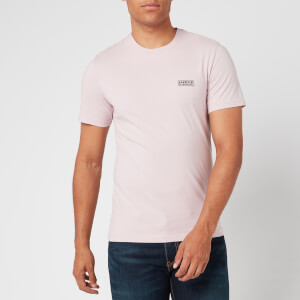Barbour International Men's Small Logo T-Shirt - Dust Pink