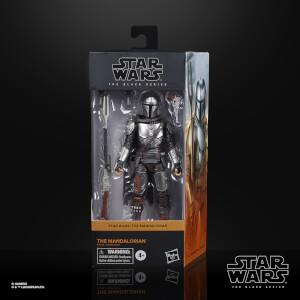 Star Wars The Black Series, figurine articulée Le Mandalorien à collectionner