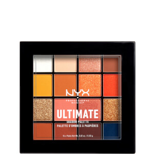 NYX Professional Makeup Ultimate Shadow Palette Edit Escape Artist 16 Shades