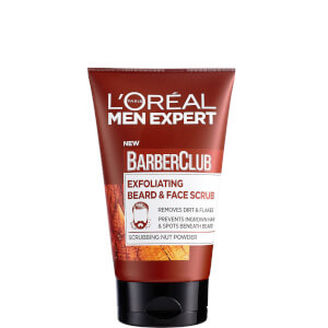 L'Oréal Men Expert Barber Club Exfoliating Beard & Face Scrub 100ml
