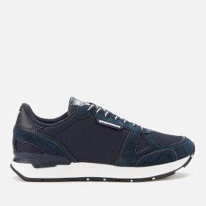 Emporio Armani Men's Running Style Trainers - Navy