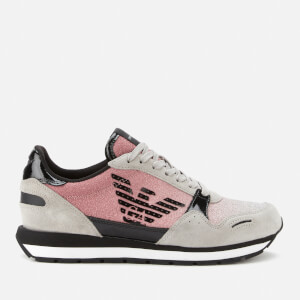 Emporio Armani Women's Running Style Trainers - Pink