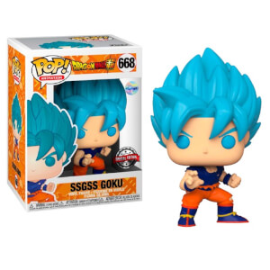 Dragon Ball Super SSGSS Goku EXC Pop! Vinyl Figure