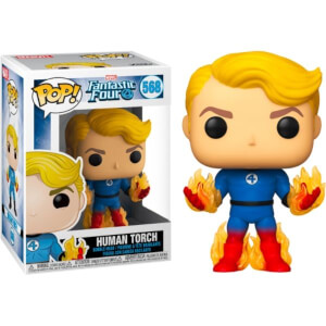 Marvel Fantastic 4 Human Torch with Flames EXC Pop! Vinyl Figure