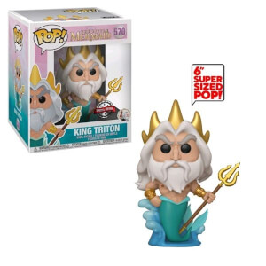 Disney Little Mermaid King Triton 6-Inch EXC Pop! Vinyl Figure