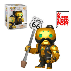 Overwatch B.O.B 6-Inch (Metallic) EXC Pop! Vinyl Figure