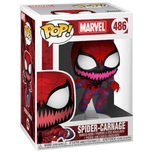 Marvel Spider-Man Spider-Carnage EXC Pop! Vinyl Figure