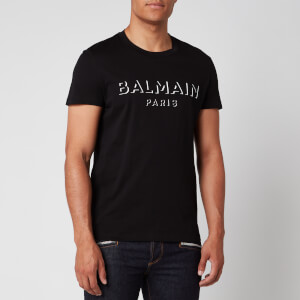 Balmain Men's 3D Logo T-Shirt - Black