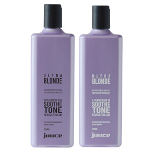 Juuce Ultra Blonde Duo with 1 Minute Treatment (Worth $88.85)