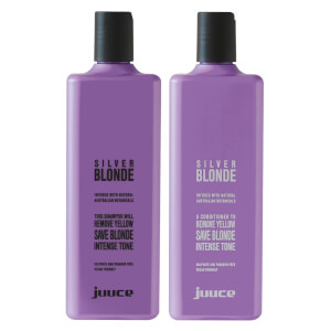 Juuce Silver Blonde Travel Friends Duo 2 x 100ml (Worth $33.9)