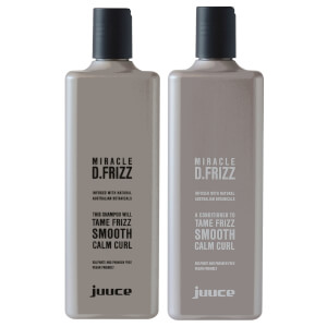 Juuce Miracle D.Frizz Travel Friends Duo 2 x 100ml (Worth $29.90)