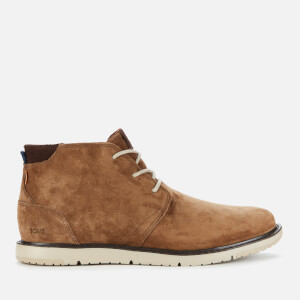 TOMS Men's Navi Water Resistant Desert Boots - Brown